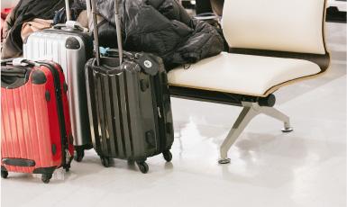修学旅行・団体旅行の荷物