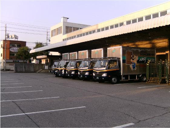 西日本の各地へ営業拠点を展開 売上10億円を突破。
