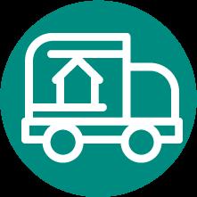 家具配送の技術と50年以上の実績