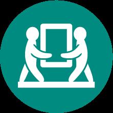 家具の移動/転送
