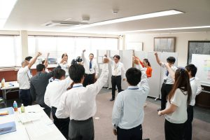 上級社員研修『夢志の巣塾』第四期 1回目リーダー研修