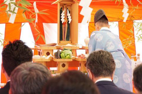 ネスト寮(仮称) 地鎮祭
