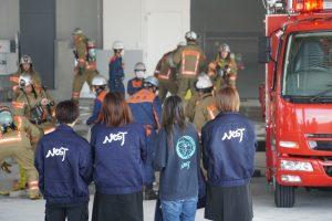 広島西風新都物流センターで「大規模物流倉庫で消防訓練」が行われました