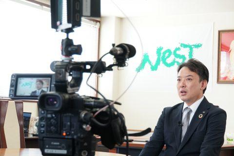 「ビジネス最前線/広島ホームテレビ」でネストが紹介されます